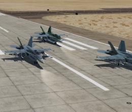 Flight/Line Up-Take Off-Rejoin